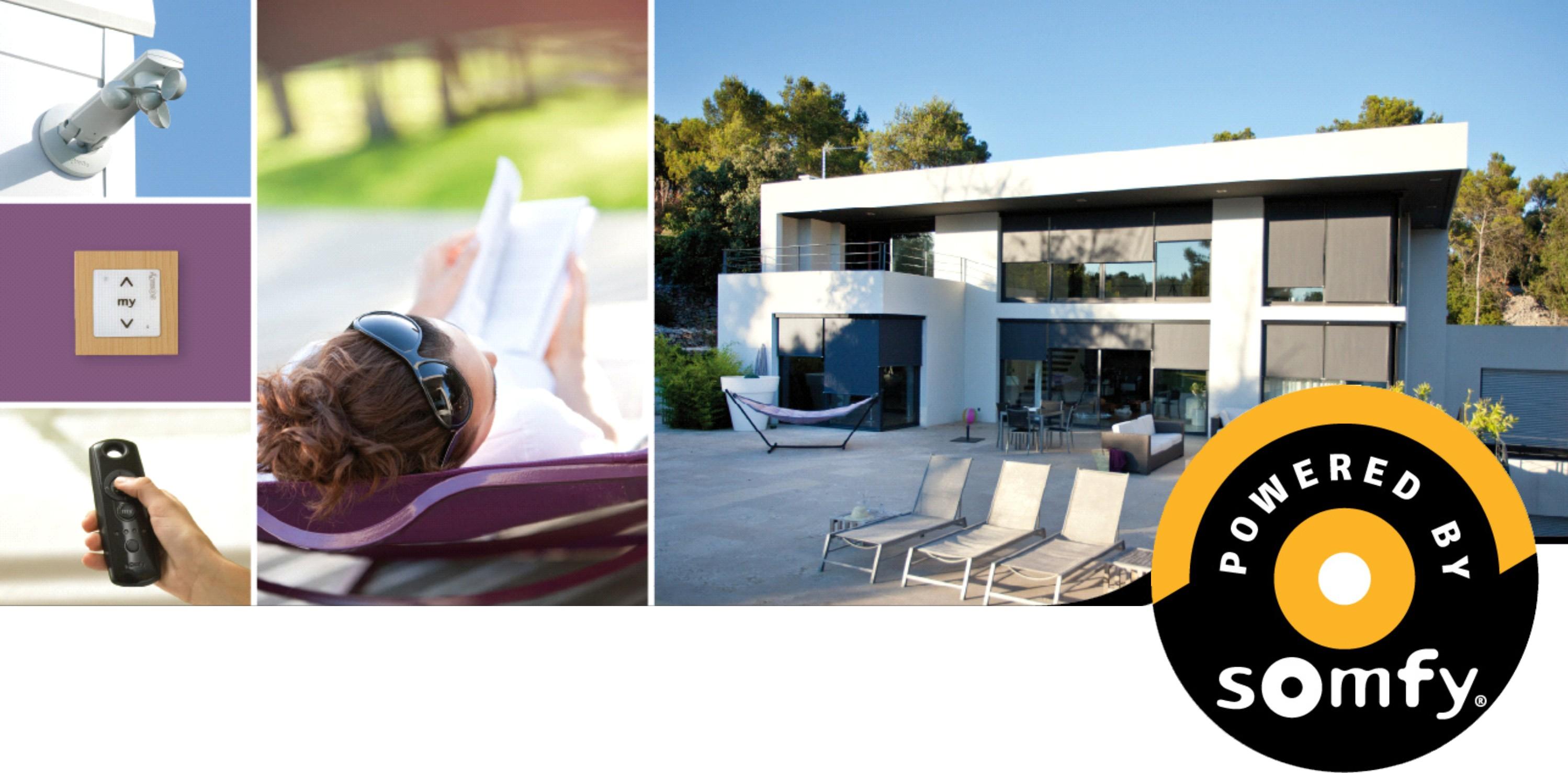 volet roulant sur mesure somfy. Black Bedroom Furniture Sets. Home Design Ideas